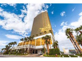 Property for sale at 2000 FASHION SHOW Drive 2507, Las Vegas,  Nevada 89109