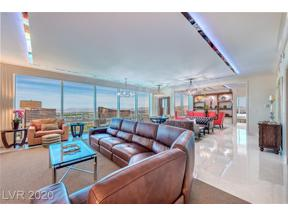 Property for sale at 2000 Fashion Show 6303, Las Vegas,  Nevada 89109