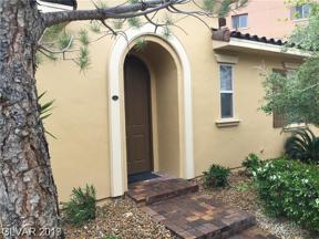 Property for sale at 29 Via Mantova Unit: 1, Henderson,  Nevada 89074