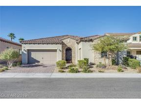 Property for sale at 356 Pearl Fountains Court, Las Vegas,  Nevada 89148