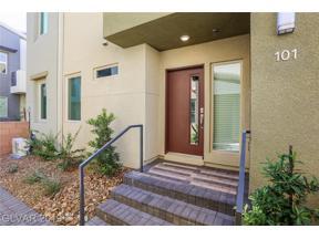 Property for sale at 11289 Vision Peak Avenue Unit: 101, Las Vegas,  Nevada 89135