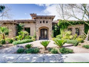 Property for sale at 2681 Ponte Vecchio, Henderson,  Nevada 89052