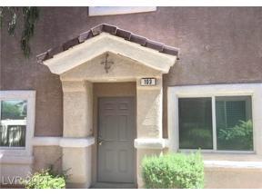 Property for sale at 1109 Elation Lane 3, Henderson,  Nevada 89002