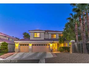 Property for sale at 6 Cobbs Creek Way, Las Vegas,  Nevada 89148
