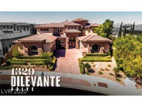 Property for sale at 1329 DILEVANTE Drive, Henderson,  Nevada 89052