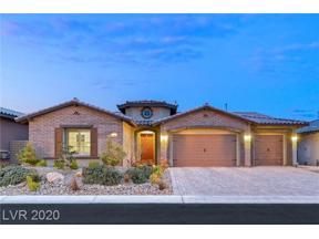 Property for sale at 80 BASQUE COAST Street, Las Vegas,  Nevada 89138