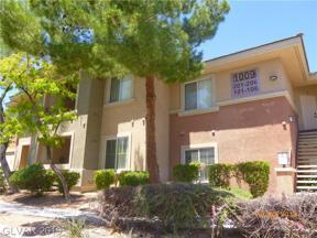 Property for sale at 1009 Domnus Lane Unit: 206, Las Vegas,  Nevada 89144