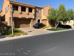 Property for sale at 63 Contrada Fiore Drive, Henderson,  Nevada 89011