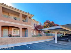 Property for sale at 10525 Autumn Pine Avenue Unit: 103, Las Vegas,  Nevada 89144