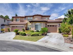 Property for sale at 391 Las Lanzas Street, Las Vegas,  Nevada 89138