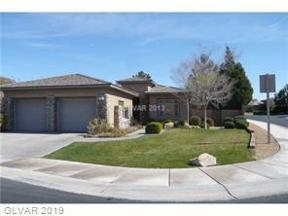 Property for sale at 4 Fountainhead Circle, Henderson,  Nevada 89052