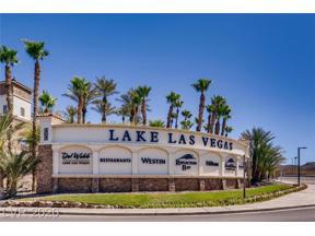 Property for sale at 5 Avenida Sorrento, Henderson,  Nevada 89011