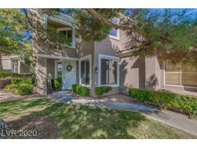 Property for sale at 1900 Summer Palm Place 101, Las Vegas,  Nevada 89134
