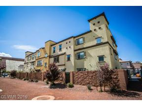 Property for sale at 1525 Spiced Wine Avenue Unit: 30104, Henderson,  Nevada 89074