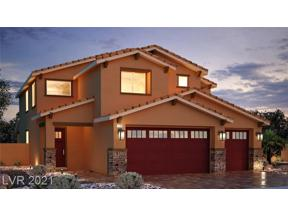 Property for sale at 4216 FOSSATELLO Street Lot 129, North Las Vegas,  Nevada 89084
