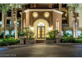 Property for sale at 20 Via Mantova Unit: 108, Henderson,  Nevada 89011