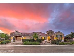 Property for sale at 6270 San Gagano Avenue, Las Vegas,  Nevada 89131