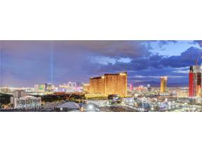 Property for sale at 2857 Paradise Road Unit: 2602, Las Vegas,  Nevada 89109