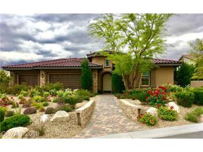 Property for sale at 220 Basque Coast Street, Las Vegas,  Nevada 89138