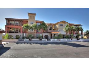 Property for sale at 64 Strada Principale Unit: 105, Henderson,  Nevada 89011