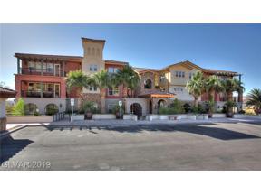 Property for sale at 64 Strada Principale Unit: 105, Henderson,  Nevada 89011