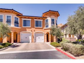 Property for sale at 34 Via Vasari Unit: 104, Henderson,  Nevada 89011