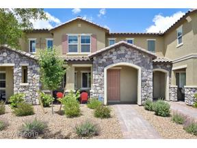 Property for sale at 2257 Via Firenze, Henderson,  Nevada 89044