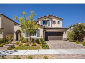 Property for sale at 3210 Porta Cesareo Avenue, Henderson,  Nevada 89044