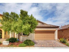 Property for sale at 246 Garden Arbor Court, Las Vegas,  Nevada 89148