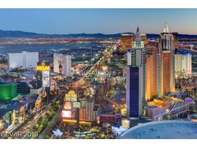 Property for sale at 3750 South Las Vegas Boulevard Unit: 3301, Las Vegas,  Nevada 89158