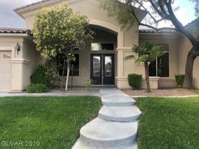 Property for sale at 4777 Barcelona Ridge Court, Las Vegas,  Nevada 89129