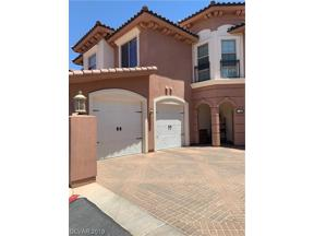 Property for sale at 25 Via Visione Unit: 101, Henderson,  Nevada 89011