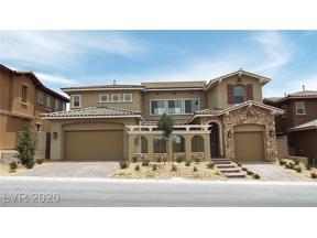 Property for sale at 378 Pollino Peaks Street, Las Vegas,  Nevada 89138