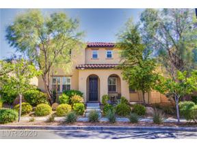 Property for sale at 3199 Subtle Color, Henderson,  Nevada 89044