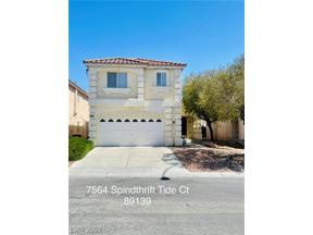 Property for sale at 7564 Spindrift Tide Court, Las Vegas,  Nevada 89139