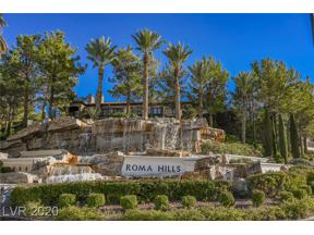 Property for sale at 1793 Valenzano Way, Henderson,  Nevada 89012