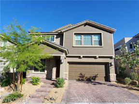 Property for sale at 2592 Iron Crest Lane, Las Vegas,  Nevada 89138