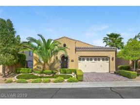 Property for sale at 1074 Via Saint Lucia Place, Henderson,  Nevada 89011