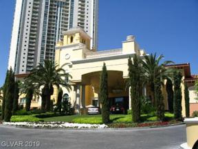 Property for sale at 2747 Paradise Road Unit: 2001, Las Vegas,  Nevada 89109