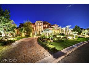 Property for sale at 22 Promontory Ridge, Las Vegas,  Nevada 89135