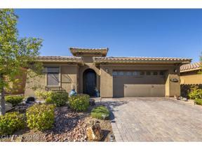 Property for sale at 1031 Via Nandina Place, Las Vegas,  Nevada 89011