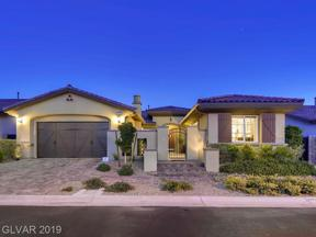 Property for sale at 286 Evante Street, Las Vegas,  Nevada 89138