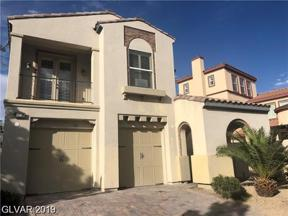 Property for sale at 258 Crooked Putter Drive, Las Vegas,  Nevada 89148