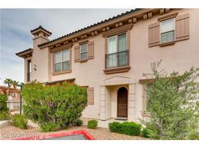 Property for sale at 10 Via Vasari Unit: 101, Henderson,  Nevada 89011