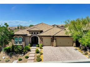 Property for sale at 2460 Chateau Napoleon Drive, Henderson,  Nevada 89044