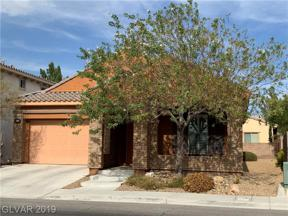 Property for sale at 1158 Olivia, Henderson,  Nevada 89001