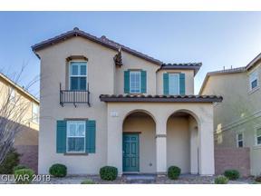 Property for sale at 3121 Via Da Vinci, Henderson,  Nevada 89044