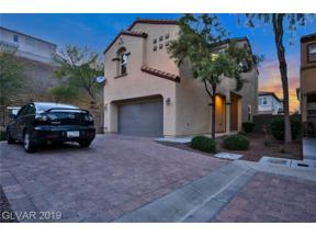 Property for sale at 1556 Otero Valley Court, Henderson,  Nevada 89074