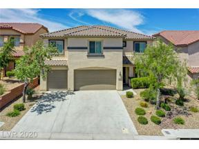 Property for sale at 2577 Chateau Clermont Street, Henderson,  Nevada 89044
