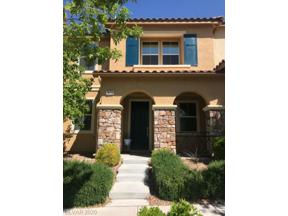 Property for sale at 1874 Via Firenze, Henderson,  Nevada 89044